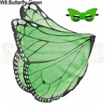 Butterfly Green Wing with mask