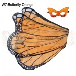 Butterfly Orange Wing with mask