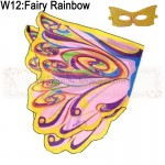 Fairy Rainbow Wing with mask
