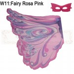Fairy Rosa Pink Wing with mask