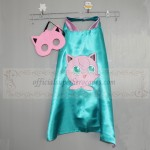 Jigglypuff cape with mask