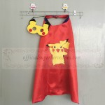 Pikachu cape with mask