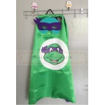 TMNT Purple cape with mask