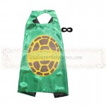 TMNT Black cape with mask