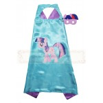 Twilight sparkle cape with mask