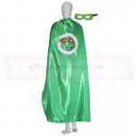Adult TMNT Orange cape with mask