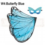 Butterfly Blue Wing with mask