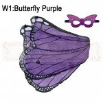 Butterfly Purple Wing with mask
