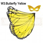 Butterfly Yellow Wing with mask