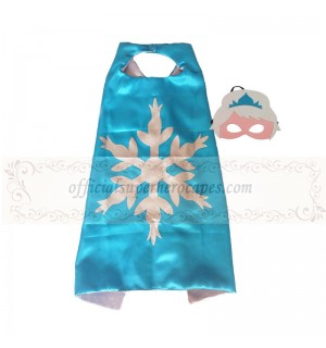 Snowflake cape with mask