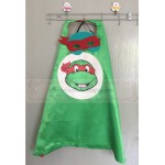 TMNT Red cape with mask