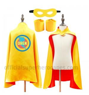 Personalized Superhero Capes - L13-CL41-YZ05