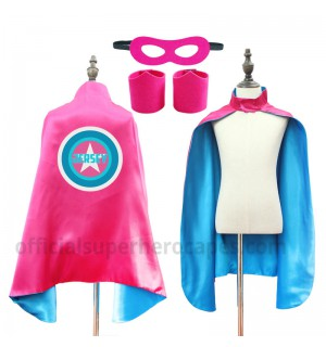Personalized Superhero Capes - L20-CL41-YZ05