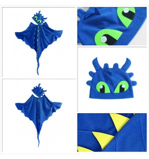 Dragon Costume Cloak with Hat Toothless Costume