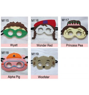 Super Why Masks