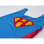 PERSONALIZED Shield SUPERHERO CAPE - Customize with your childs initial - doublesided Boy Super Hero Cape-boy birthday gift