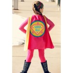 Girls FULL NAME Custom Shield Cape - Personalized Superhero Cape - Girls Make Believe Gift - Superhero Party - Fast Shipping -Easter Basket