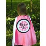 Flower Girl OR Ring Bearer Gift - Custom Superhero Capes for Wedding