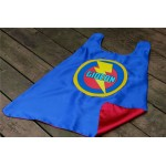 Boys Personalized Superhero Cape with full name - Superhero party - Boy birthday present