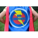 Rush Gift - Ready to Ship - BIG BROTHER SUPERHERO Cape Set - Includes Mask - Big brother gift - sibling gift - Big sister - Little Sister