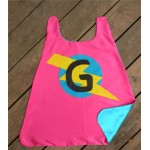 PERSONALIZED Girls SUPERHERO Cape - Lots of color combinations to choose from - Girl birthday gift