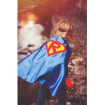 CUSTOMIZED BOYS SUPERHERO Cape - Personalized Shield with your childs initial - Boy Hero Cape - Boy birthday gift