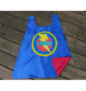 PERSONALIZED SUPERHERO Party CAPE with Full Name - Customized boy birthday present