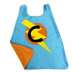 Custom Kids Cape - Fast Shipping - PERSONALIZED BOYS SUPERHERO Cape - Choose the Initial - Boy Birthday Gift or Super hero party cape