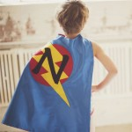 FAST Delivery - Boys Personalized SUPERHERO CAPE - Customized Initial - Superhero Party - Pretend Play