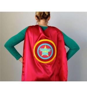 Adult Super Hero Cape - Customized and Personalized Grandma or Grandpa SUPERHERO Cape - Ships Fast - Capes for Men and Women