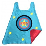 Kids SUPER STAR SUPERHERO Cape - Personalized with Full Name - Superkid Capes Original - Fast Shipping