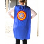Personalized Adult SUPERHERO Cape - Add your Business Name or Organization - Ships Fast - Super Hero Capes for Men and Women
