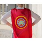 Super Anything ADULT SUPERHERO CAPE - You choose what it says - Custom Name Adult Cape - Ships Fast - Super Hero Capes for Men and Women