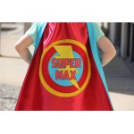 Customized Full Name Cape -  fast delivery - PERSONALIZED Kids SUPERHERO CAPE