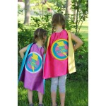 BIG SISTER SUPERHERO Cape - Sibling gift - big sister gift - new baby - Ships Fast - Opition to add custom name
