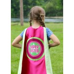 SIBLING GIFT - Super Sister Superhero Cape - Big sister gift - new baby - Ships Fast - Opition to add custom name