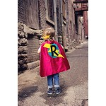 Easy Kids Halloween Costume - Personalized Superhero Cape - 12 choices - Boy or girl Birthday gift- Superhero Birthday Party - Fast Shipping