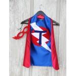 Childrens Superhero Costumes - PERSONALIZED Kids Superhero Cape - Choose the Initial - Super hero party cape