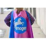 Fast Shipping - SPARKLE UNICORN - GIRLS Personalized Superhero Cape - Full Name Hero Cape - Girls Birthday - Easter ready