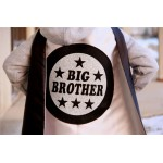 Silver and Black Big Brother Superhero Cape - 4 combinations - NEW - SHIPS FAST - Sibling gift - big brother gift - new baby - Easter Ready