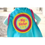 BIG SISTER or Big Brother Superhero Cape - FAST Shipping - Sibling gift - big brother gift - new baby - Ships Fast