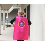 Customized and Personalized MOM or DAD SUPERHERO Cape - Adult Super Hero Cape - Ships Fast - Perfect Super Hero Capes for Men and Women
