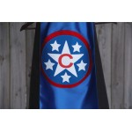 New - PERSONALIZED SUPERHERO Cape - Customized with your childs INITIAL - Customized Christmas Gifts for Kids - Personalized Presents