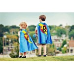 Easter Gift - TWO Personalized Superhero Capes - Kid gift - Choose from 10 color combos - Brother gift