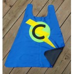 Personalized Childs Superhero cape - double sided - Custom hero cape-birthday gift - superhero party