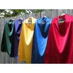 BLANK ADULT sized Super Hero Cape single sided you pick the color